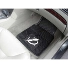 "Tampa Bay Lightning 17"" x 27"" Heavy Duty Vinyl Auto Floor Mat (Set of 2 Car Mats)"