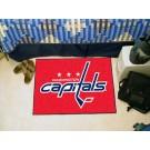 "Washington Capitals 19"" x 30"" Starter Mat"