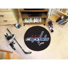 "Washington Capitals 27"" Round Puck Mat"