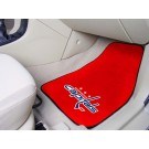 "Washington Capitals 18"" x 27"" Auto Floor Mat (Set of 2 Car Mats)"