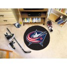 "Columbus Blue Jackets 27"" Round Puck Mat"