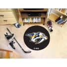 """Nashville Predators 27"""" Round Puck Mat"""