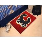 """Calgary Flames 19"""" x 30"""" Starter Mat"""