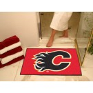 "Calgary Flames 34"" x 45"" All Star Floor Mat"