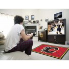 Calgary Flames 4' x 6' Area Rug by