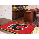 Calgary Flames 5' x 8' Area Rug by