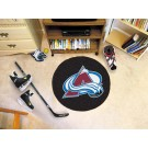 "Colorado Avalanche 27"" Round Puck Mat"