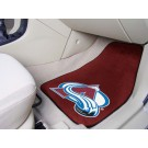 "Colorado Avalanche 18"" x 27"" Auto Floor Mat (Set of 2 Car Mats)"