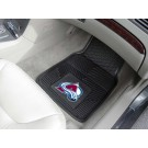 "Colorado Avalanche 17"" x 27"" Heavy Duty Vinyl Auto Floor Mat (Set of 2 Car Mats)"