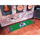 "Colorado Avalanche 18"" x 72"" Golf Putting Green Mat"