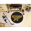 "Dallas Stars 27"" Round Puck Mat"