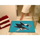 "San Jose Sharks 34"" x 45"" All Star Floor Mat"