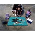 San Jose Sharks 5' x 6' Tailgater Mat by