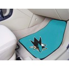 "San Jose Sharks 18"" x 27"" Auto Floor Mat (Set of 2 Car Mats)"