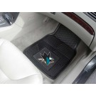 "San Jose Sharks 17"" x 27"" Heavy Duty Vinyl Auto Floor Mat (Set of 2 Car Mats)"