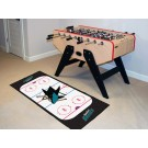 "San Jose Sharks 30"" x 72"" Hockey Rink Runner"