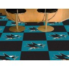 "San Jose Sharks 18"" x 18"" Carpet Tiles (Box of 20)"