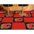"Calgary Flames 18"" x 18"" Carpet Tiles (Box of 20)"