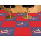 "Columbus Blue Jackets 18"" x 18"" Carpet Tiles (Box of 20)"