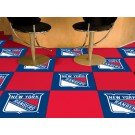 "New York Rangers 18"" x 18"" Carpet Tiles (Box of 20)"