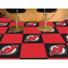 "New Jersey Devils 18"" x 18"" Carpet Tiles (Box of 20)"