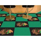 "Chicago Blackhawks 18"" x 18"" Carpet Tiles (Box of 20) by"