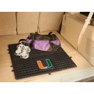"Miami Hurricanes 31"" x 31"" Heavy Duty Vinyl Cargo Mat"