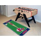 """Cleveland Indians 30"""" x 72"""" Baseball Runner"""