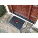 "Louisville Cardinals 19"" x 30"" Medallion Door Mat"