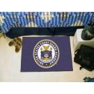 """Coast Guard Academy Bears 19"""" x 30"""" Starter Mat (Blue)"""