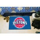 "Detroit Pistons 19"" x 30"" Starter Mat"
