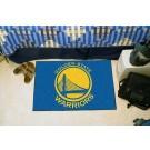 """Golden State Warriors 19"""" x 30"""" Starter Mat"""