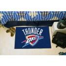 """Oklahoma City Thunder 19"""" x 30"""" Starter Mat"""