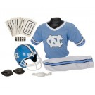 Franklin North Carolina Tar Heels DELUXE Youth Helmet and Football Uniform Set (Small)