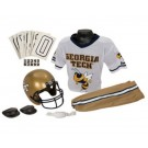 Franklin Georgia Tech Yellow Jackets DELUXE Youth Helmet and Football Uniform Set (Small) by