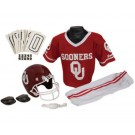 Franklin Oklahoma Sooners DELUXE Youth Helmet and Football Uniform Set (Small)
