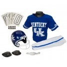 Franklin Kentucky Wildcats DELUXE Youth Helmet and Football Uniform Set (Medium)