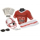Franklin Nebraska Cornhuskers DELUXE Youth Helmet and Football Uniform Set (Medium)