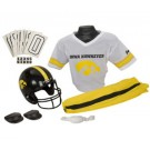 Franklin Iowa Hawkeyes DELUXE Youth Helmet and Football Uniform Set (Medium)