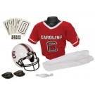 Franklin South Carolina Gamecocks DELUXE Youth Helmet and Football Uniform Set (Medium)