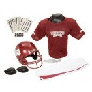 Franklin Mississippi State Bulldogs DELUXE Youth Helmet and Football Uniform Set (Medium)