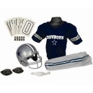 Franklin Dallas Cowboys DELUXE Youth Helmet and Football Uniform Set (Small)