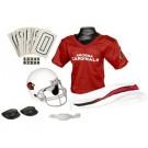 Franklin Arizona Cardinals DELUXE Youth Helmet and Football Uniform Set (Small)