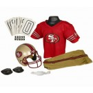 Franklin San Francisco 49ers DELUXE Youth Helmet and Football Uniform Set (Small)