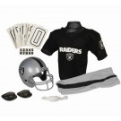 Franklin Oakland Raiders DELUXE Youth Helmet and Football Uniform Set (Small)