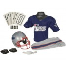 Franklin New England Patriots DELUXE Youth Helmet and Football Uniform Set (Small)