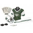 Franklin New York Jets DELUXE Youth Helmet and Football Uniform Set (Small)