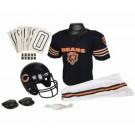 Franklin Chicago Bears DELUXE Youth Helmet and Football Uniform Set (Medium)