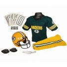 Franklin Green Bay Packers DELUXE Youth Helmet and Football Uniform Set (Medium)
