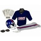 Franklin New York Giants DELUXE Youth Helmet and Football Uniform Set (Medium)
